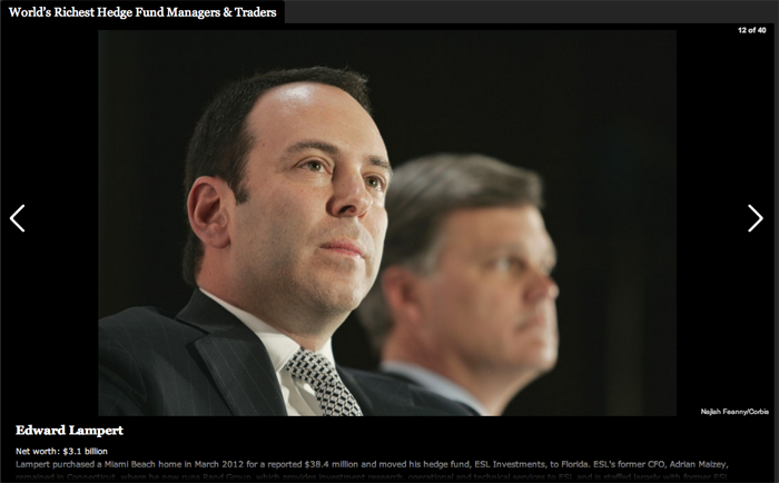 FORBES | World's Richest Hedge Fund Manager's and Traders