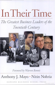 The Greatest Business Leaders of the Twentieth Century