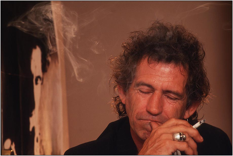 Rolling Stones Guitarist Keith Richards