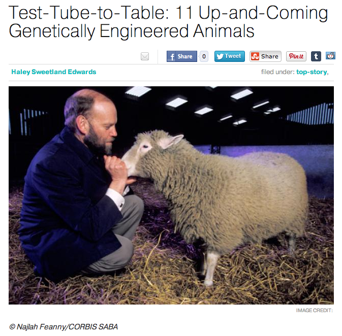 MENTAL FLOSS | Test Tube to Table